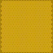 Figure bee hive cell hexagon
