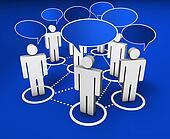 Social Network Internet Community