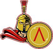 spartan with shield