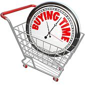 Buying Time Clock in Shopping Cart Saving