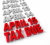 April 15th Tax Due
