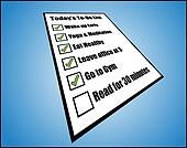 Daily to do List or Task List