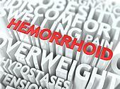 Hemorrhoid Concept.