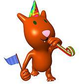 View happy cat on friend birthday p