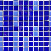 Blue Tile Wall Texture.