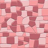 Stone wall background in seamless format
