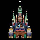 Krakow Nativity Scene - Christmas tradition