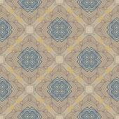floral geometric pattern, contemporary style