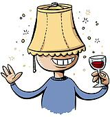 Lampshade Drunk