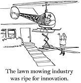 Entrepreneur has an idea for better mowing