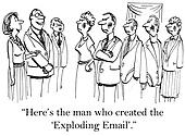 The man who designed the exploding mail