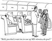 Passenger needs to make calls onboard