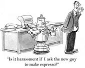 Robot That Makes Coffee can not be asked about espresso