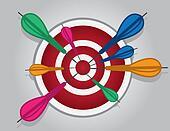 Bullseye Many Darts