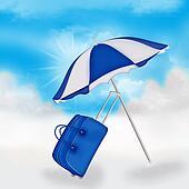 Parasol and bag