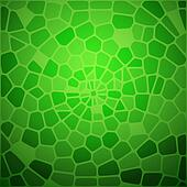 Green snake skin abstraction.