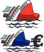 sinking greece - crisis