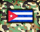 Amy camouflage uniform, Cuba
