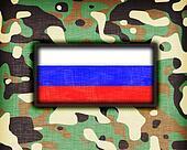 Amy camouflage uniform, Russia