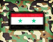 Amy camouflage uniform, Syria
