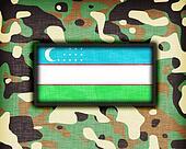Amy camouflage uniform, Uzbekistan
