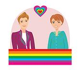 clip art images of Gay Pride on GoGraph