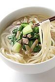 zha cai rou si mian, chinese noodle