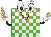 Chess Board Mascot