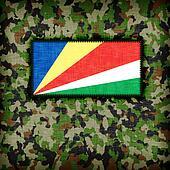 Amy camouflage uniform, The Seychelles