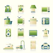 home equipment icons