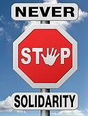 never stop solidarity