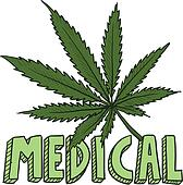 Medical marijuana sketch