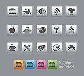 Food Icons - Set 1 of 2 // Satinbox
