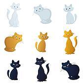 Cats, set