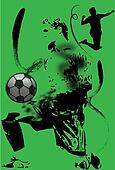 football art stroke