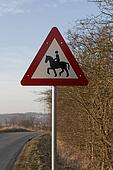 Road Sign - Horse Riding