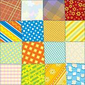 Seamless Quilt Fabric Texture