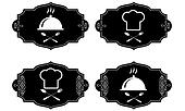cooking symbols, vector collection