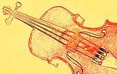 Sketched Violin