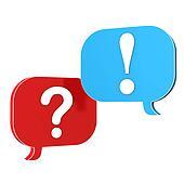 Speech Bubbles Question Answer