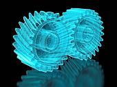 Mesh gears