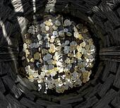 Wishing Well With Coins Top