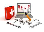 diagnostics and repair of computer