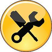 Shiny Yellow Manage Settings Button