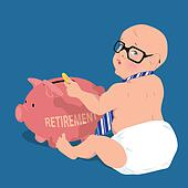 Saving for retirement early