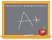 Blackboard, A Plus, Apple