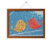 Mosaic tile birds