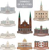 Symbols of US cities