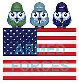 American armed forces