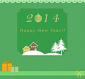 Funny Happy New Year card